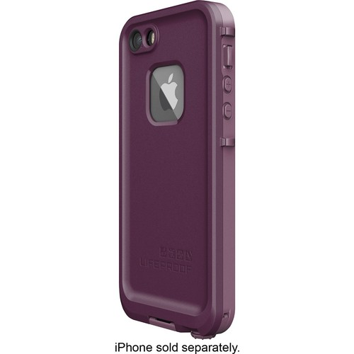 LifeProof - Fr Modular Case for Apple iPhone 5, 5s and SE - Purple/Crushed Purple