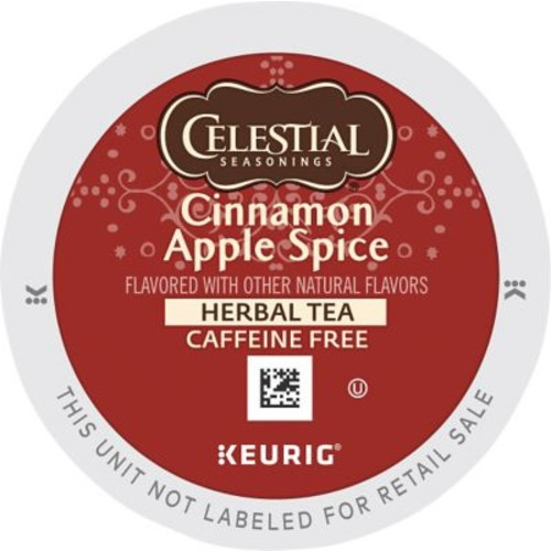Keurig K-Cup Celestial Seasonings Cinnamon Apple Spice Tea, 24 Count