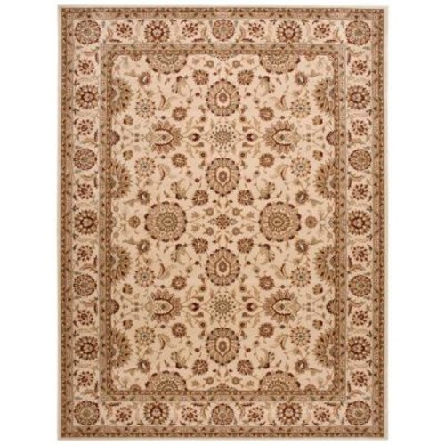 Nourison Persian Crown Suret Ivory 3 ft. 9 in. x 5 ft. 9 in. Area Rug