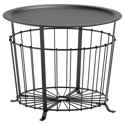 GUALV Storage table, black