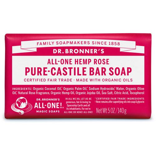 Rose Pure-Castile Bar Soap