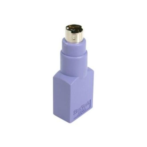 StarTech GC46FMKEY Female USB Keyboard to PS/2 Male Replacement Adapter, Purple