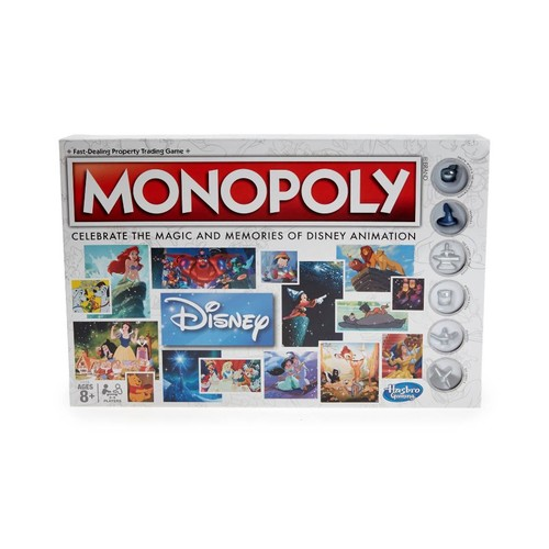 Monopoly Disney Animation Edition Board Game