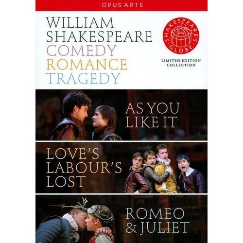 William Shakespeare: Comedy, Romance, Tragedy [4 Discs] [DVD]