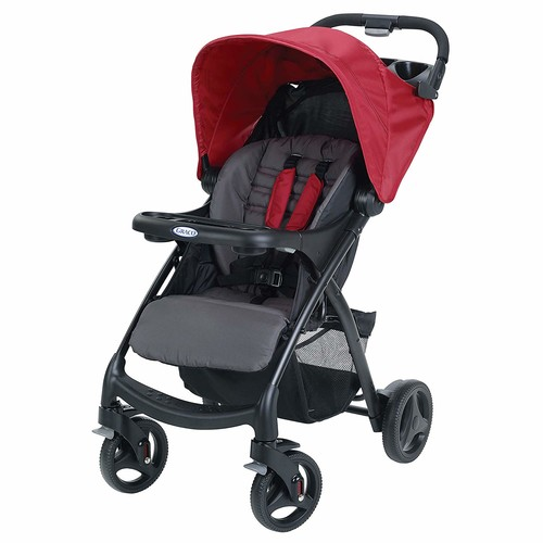Graco Verb Click Connect Stroller - Chili Red