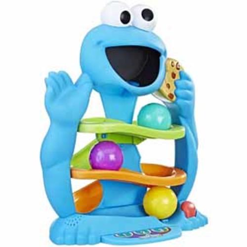 Hasbro Playskool Friends Sesame Street Cookie Monster's Drop & Roll