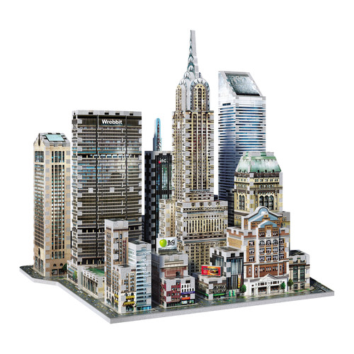 Wrebbit Puzzles 2010 Midtown East New York 3D Puzzle