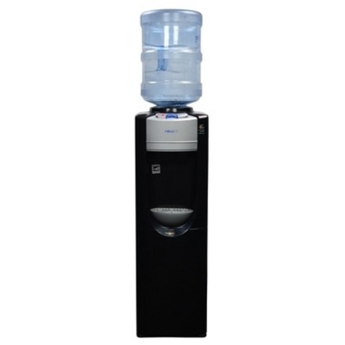 Air - Pure Spring Hot/Cold Water Dispenser - Black