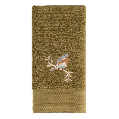 Saturday Knight, Ltd. Faithful Birds Bird Hand Towel