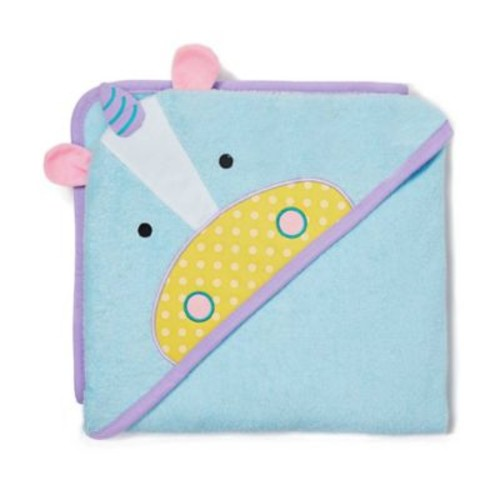SKIP*HOP Zoo Unicorn Hooded Towel