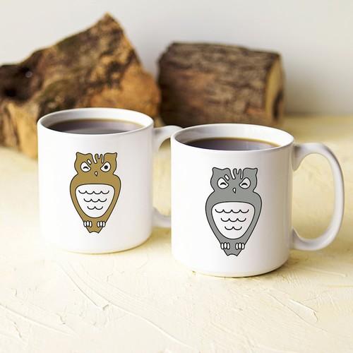 Cathy's Concepts Owl Coffee Mug Set