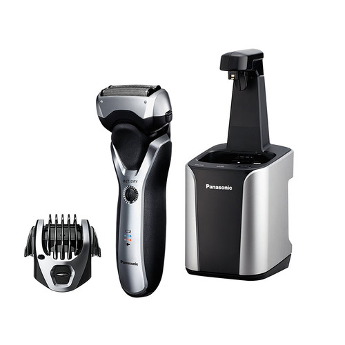 Panasonic Electric Razor, Men's 3-Blade Cordless with Wet/Dry Convenience, Comb Attachment for