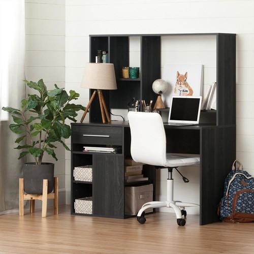South Shore Annexe Desk in Gray Oak