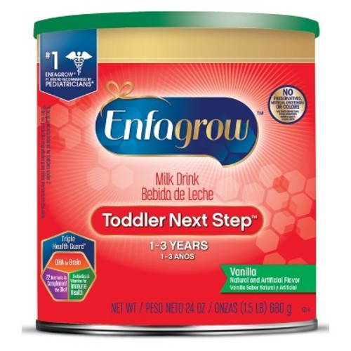 Enfagrow Toddler Next Step Powder Formula Vanilla - 24 oz