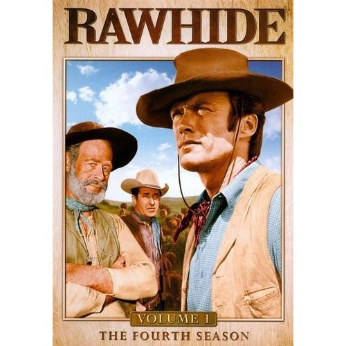 Rawhide: Season 4, Vol. 1: Clint Eastwood, Paul Brinegar, Steve Raines, Eric Fleming, James Murdock, Rocky Shahan, Robert Cabal, Sheb Wooley, William R. Thompkins, John Cole, Charles H. Gray, Milan Smith, Charles Marquis Warren: Movies & TV