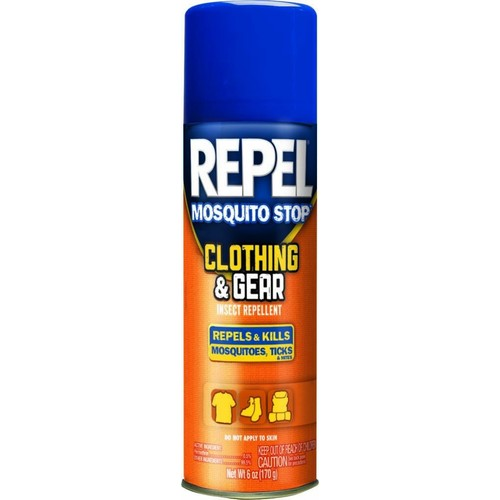 Repel 32600 6 oz Mosquito Stop Clothing & Gear Insect Repellent