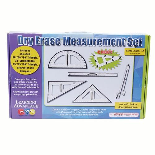 Learning Advantage 7599 Dry Erase Magnetic Measurement Set, Grade: 1