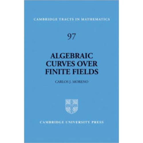 Algebraic Curves over Finite Fields