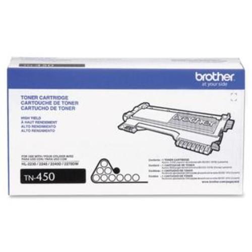Brother TN450 High Yield Toner Cartridge - BROTHER - TN450