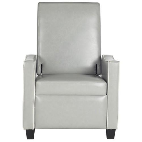Safavieh Recliner Chairs & Rocking Recliners Safavieh Holden Grey/ White Recliner Chair