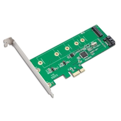 IOCrest M.2 NGFF SSD/ SATA 6G Port HDD PCI-E Controller Card With RAID