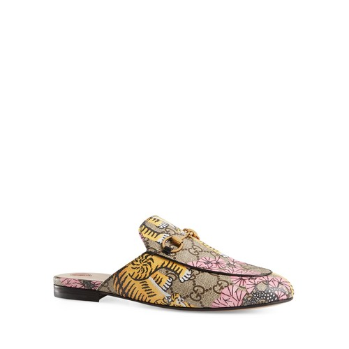 GUCCI Princetown Printed Slippers