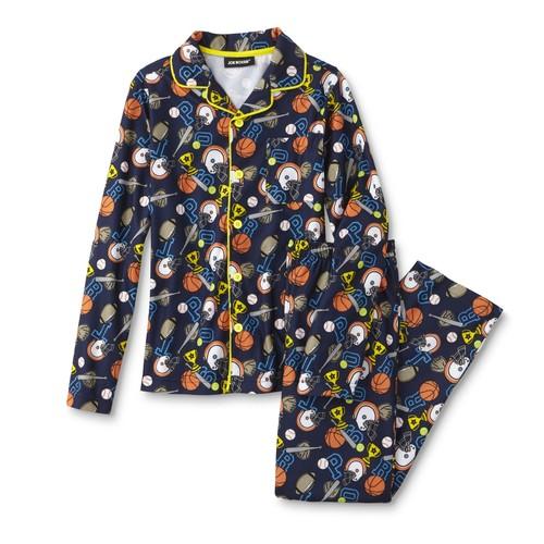Joe Boxer Boys' Pajama Shirt & Pants - Sports