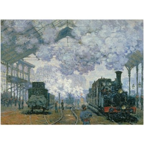 Trademark Fine Art 'Gare Saint-Lazare Arrival of a Train' 35
