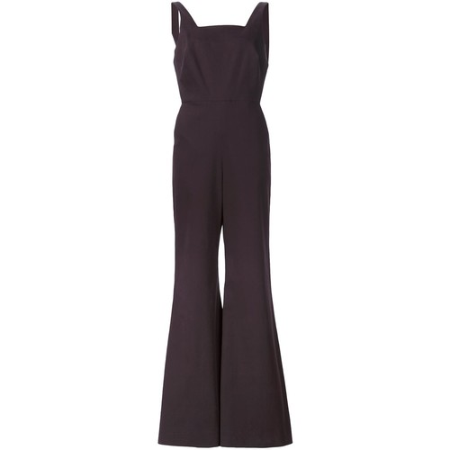 ROSIE ASSOULIN Overall Twill Jumpsuit