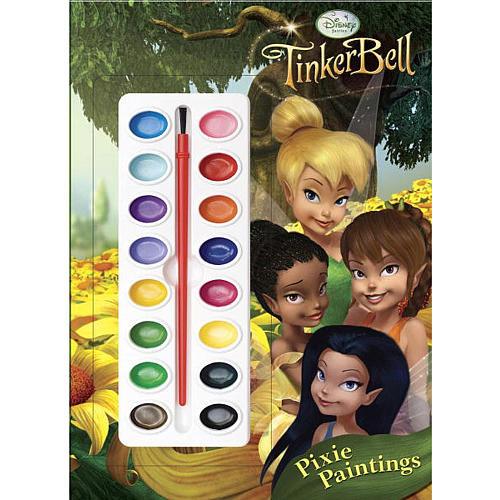 Disney Fairies Pixie Paintings Book