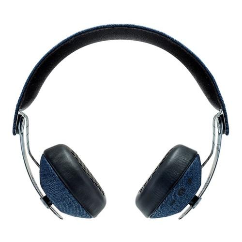 The House of Marley - Rise Bluetooth Wireless On-Ear Headphones - Denim