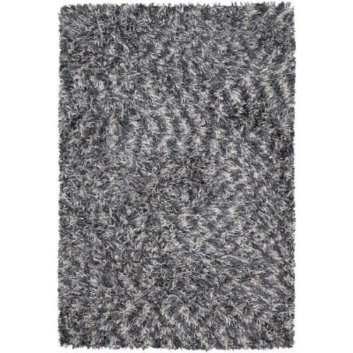 Chandra Vienna Grey/Blue/Ivory 7 ft. 9 in. x 10 ft. 6 in. Indoor Area Rug