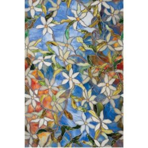 Artscape 24 in. x 36 in. Clematis Decorative Window Film