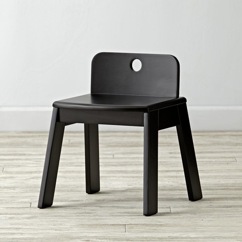 Mojo Black Kids Chair