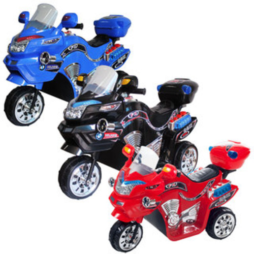 Lil Rider 3-wheel Blue FX Battery Operated Motorcycle