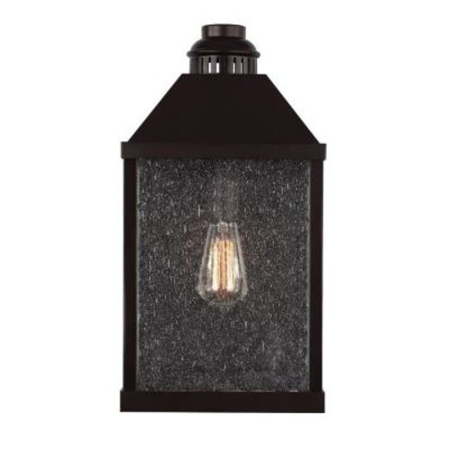 Feiss Lumiere Collection 1-Light Oil-Rubbed Bronze Outdoor Sconce