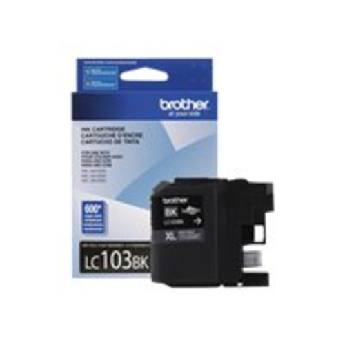 Brother LC103BK Lc103bk Innobella High-Yield Ink, Black