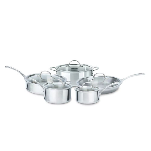 Calphalon Tri-Ply 10-pc. Stainless Steel Cookware Set