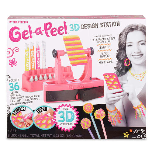 Gel-a-Peel 3D Accessory Design Station Craft Kit