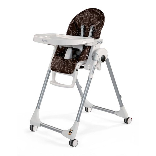 Peg Perego Prima Pappa Zero 3 High Chair - Savana Cacao