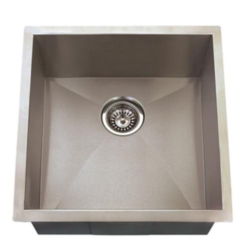 19-Inch Undermount Stainless Steel Kitchen Bar Sink
