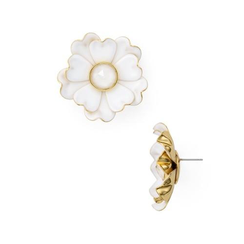 Flower Statement Stud Earrings
