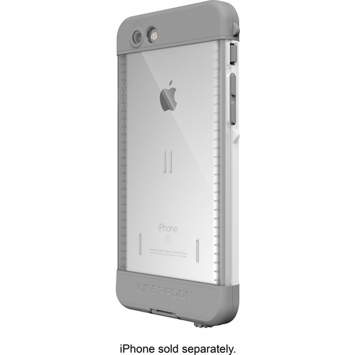 LifeProof - ND Protective Waterproof Case for Apple iPhone 6s - Avalanche white