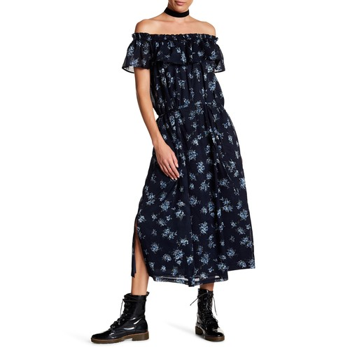 The Ruffle Off-the-Shoulder Dress