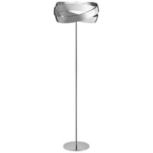 Siso Floor Lamp [Finish : Polished Chrome; Option : E26 Medium Base]