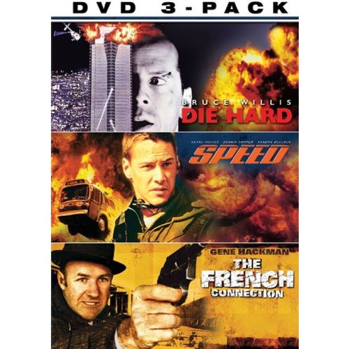 Police Action 3 Pack [3 Discs] [DVD]
