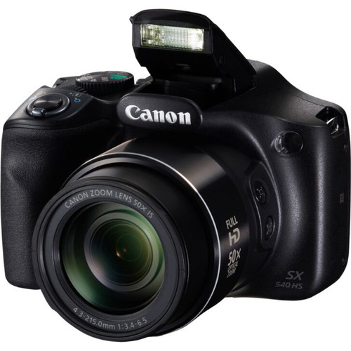 Canon PowerShot SX540 HS 20.3MP Digital Camera w/ 50x Optical Zoom and Built-In Wi-Fi