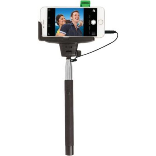Retrak iPhone 4/5/5s/6 4.7 in./6s and Samsung Galaxy S Iii/4 Selfie Stick with Wired Shutter
