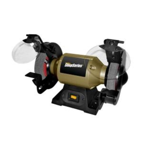 Rockwell 2.0 Amp Corded 6 in. Bench Grinder