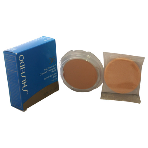 Shiseido Sun Protection Compact Foundation (Refill) SPF 36 - by for Women - 0.42 oz Foundation